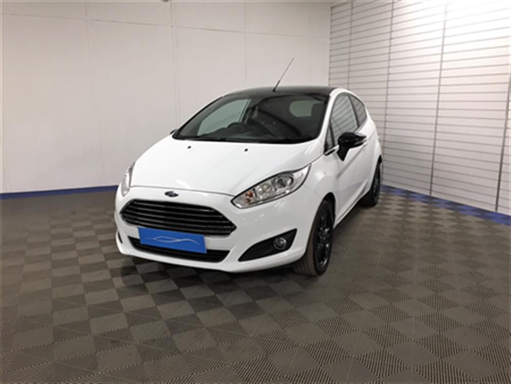 Ford FIESTA ZETEC WHITE EDIT A